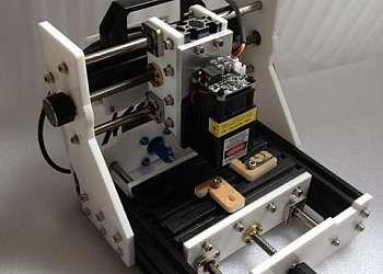 Maquina de gravação a laser