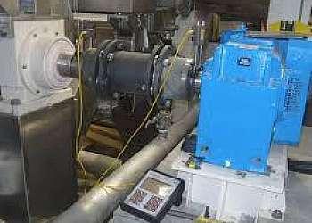 Alinhamento a laser de maquinas rotativas