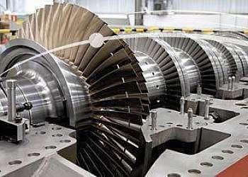 Empresa de manutenção de turbina