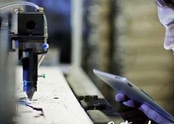 Máquina de solda laser manual