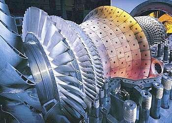 Serviço de manutenção de turbina