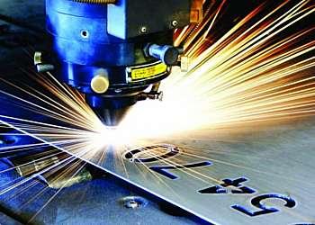 Máquina a laser metalurgia