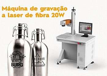 Máquina de gravação a laser para brindes