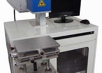 Máquina de gravação green lasers