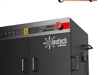 Máquina gravação a laser chaveiros